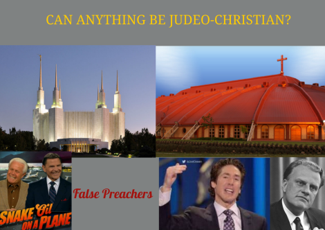judeo-christian churches lie